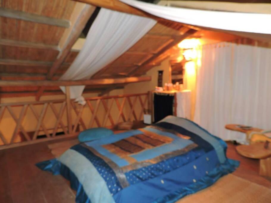 Bungalow privado dormitorio - Private bungalow bedroom