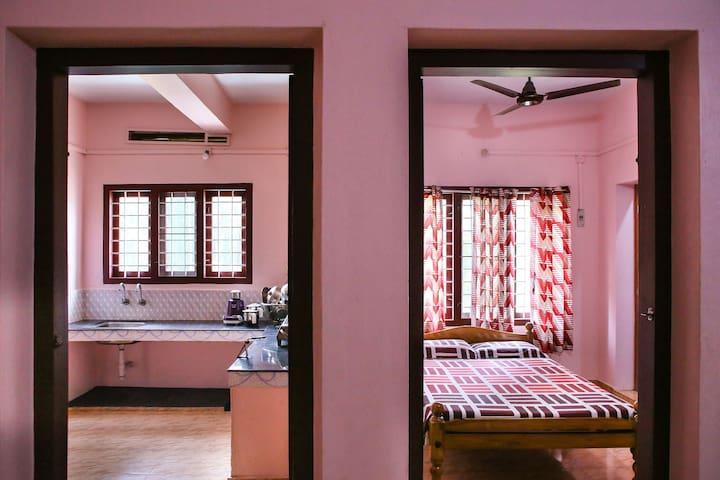 Priya Homes - 2 Bedroom (BHK), Ac/NonAc