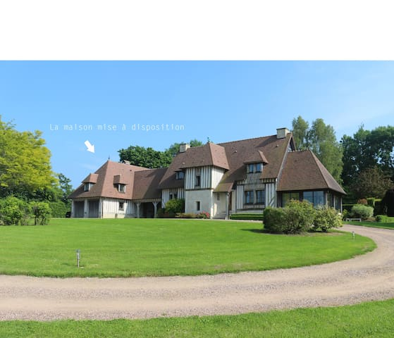 Beautiful Normandy cottage with heat swimming pool - Beaumont-en-Auge