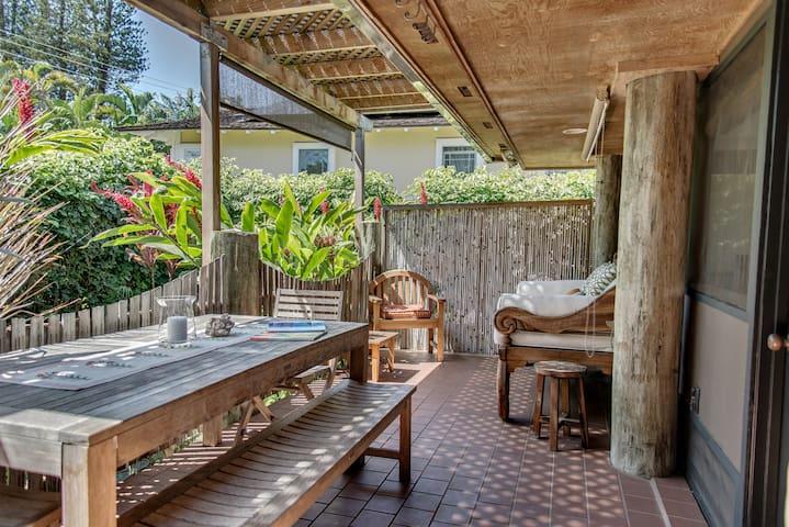 1 Bdrm Garden Cottage in Lahaina #1 - Lahaina - Lägenhet