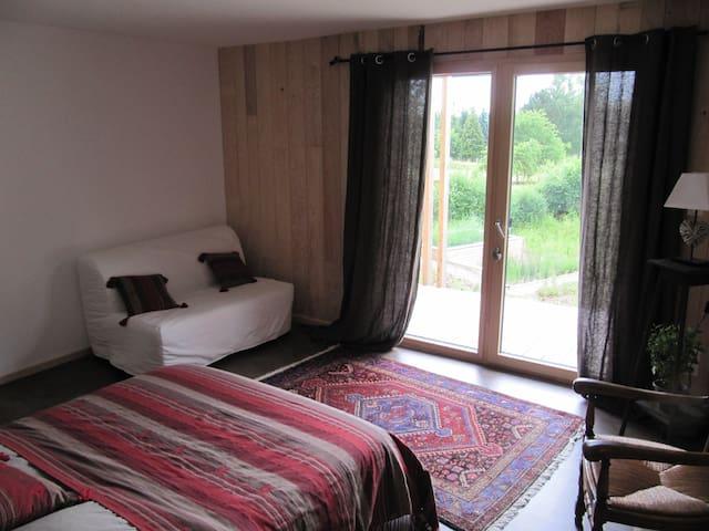 Chambre et table d'hôtes  - Recologne - Rumah Bumi