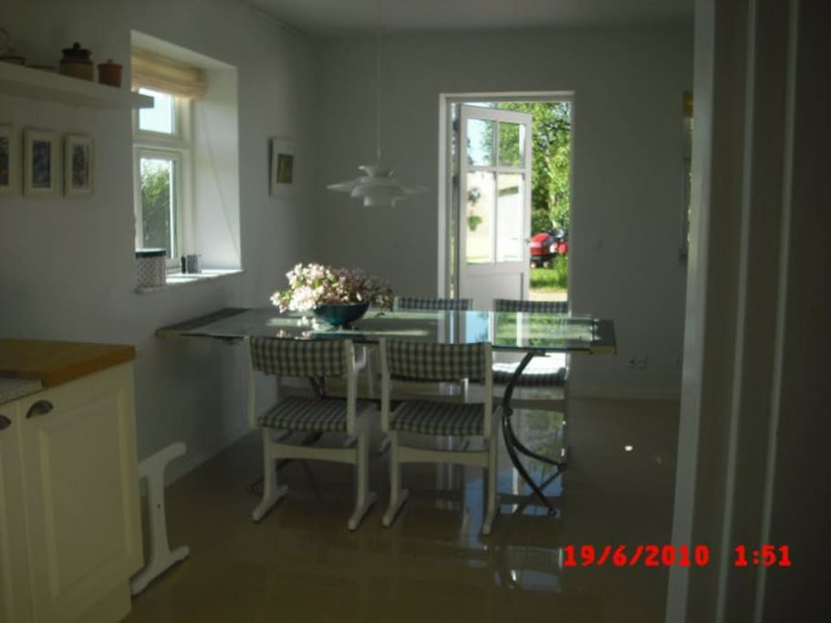 Diningroom taken from the Kitchen