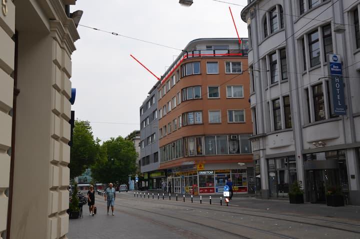 Penthouse über den Dächern Braunschweig  Terrasse