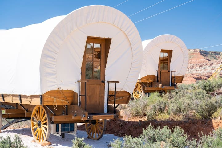Covered Wagon Glamping Zion National Park