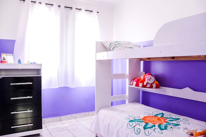 Charming Bedroom 2 blocks from Tube - São Paulo - Appartement