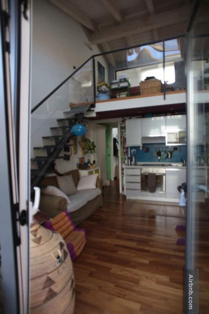 CHARMING LOFT IN THE TYPICAL NAVIGL