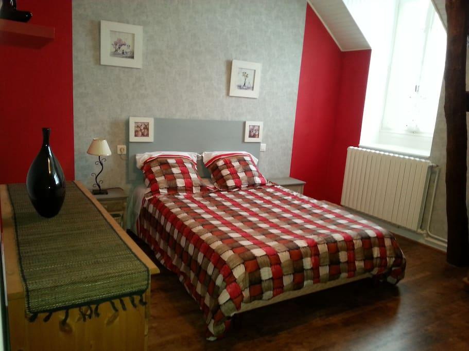 jolie chambre d 39 h te proche vichy guesthouse for rent in vendat auvergne rh ne alpes france. Black Bedroom Furniture Sets. Home Design Ideas