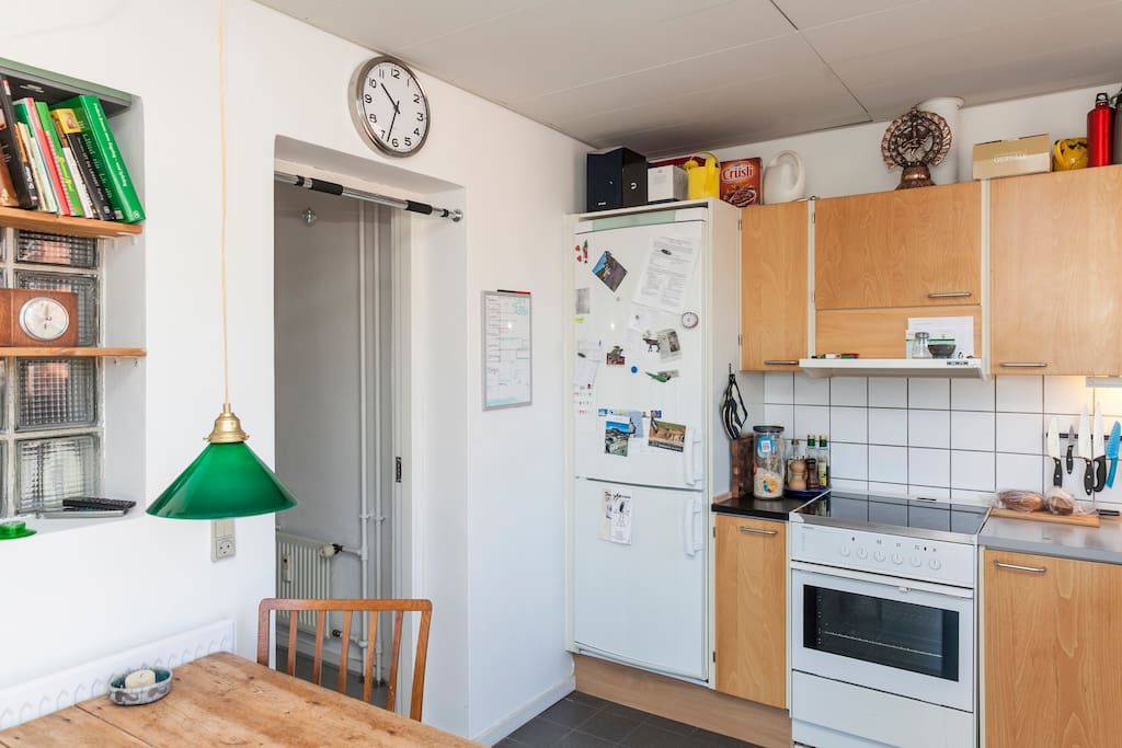We really love our bright kitchen