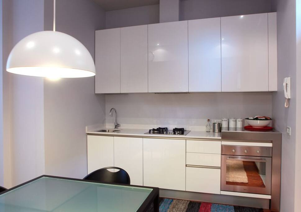 Kitchen, dining area cucina zona pranzo
