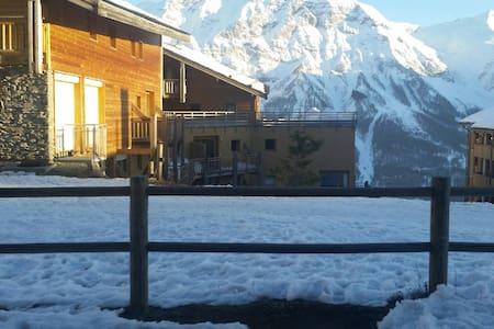 Duplex Orcières-Merlette (Ski) - Orcières - Apartemen
