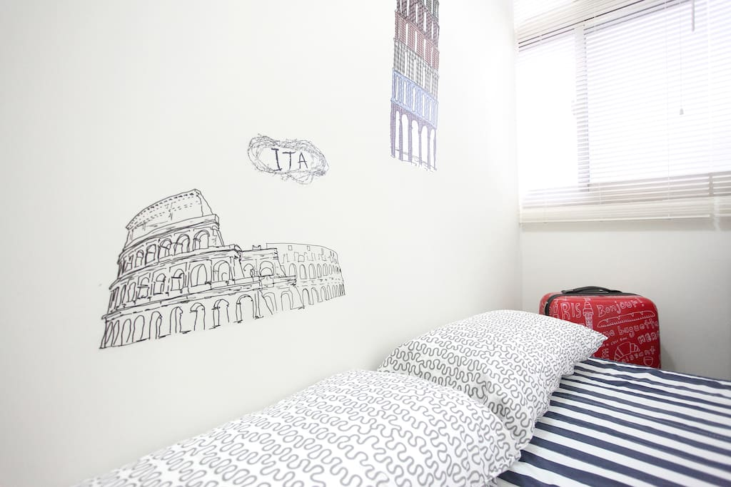 Economy Double Room : Best for a couple