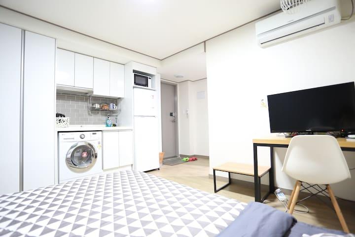 走啊游首尔明洞酒店式家庭公寓!B栋标准房!繁华明洞,近在咫尺 - Seul - Apartamento