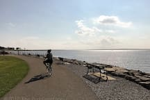 Take a bike ride to Colt State Park located in Bristol, RI. Then head into town for lunch before peddling back to Warren. This is one of our favorite spots in all of Rhode Island and you don't even need a car to get there.