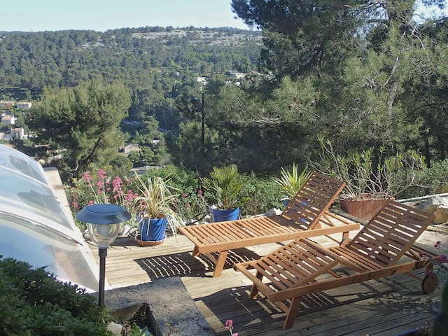 Appartement+pool+terasse private+ Calanque+ Cassis - Carnoux-en-Provence - Townhouse