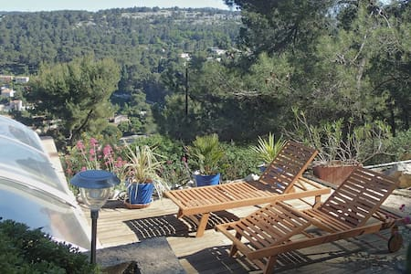 Appartement+pool+terasse private+ Calanque+ Cassis - Carnoux-en-Provence