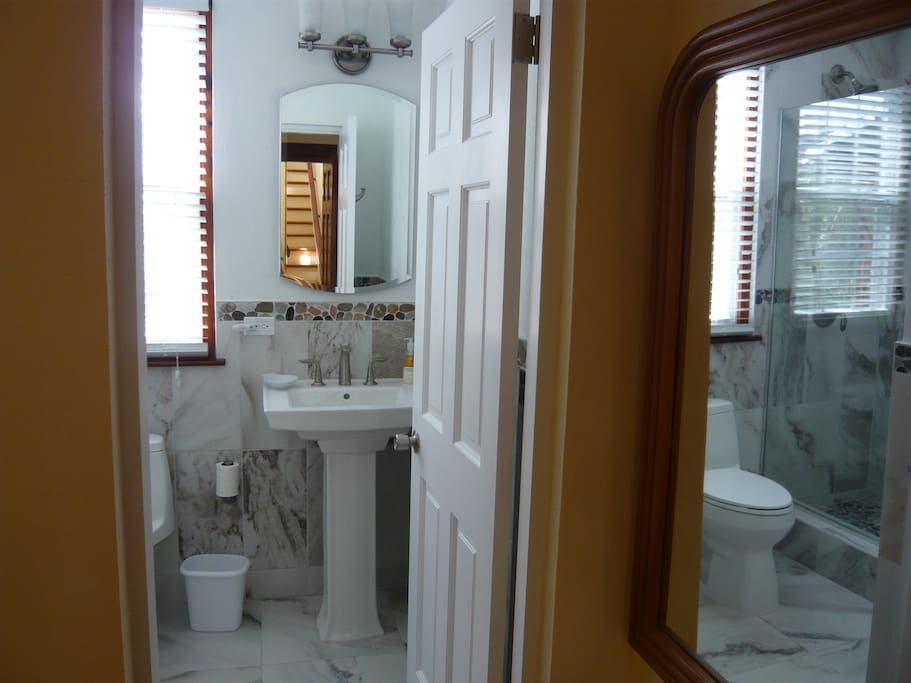 Brand new ensuite shower room
