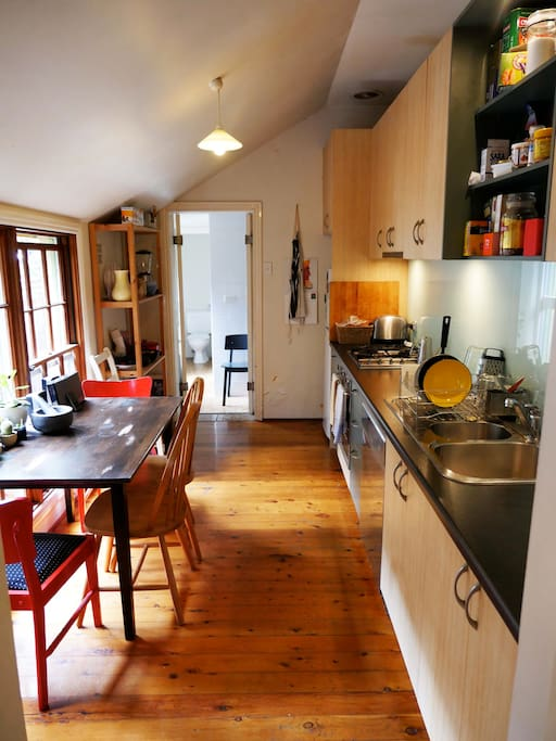 Our kitchen and dining