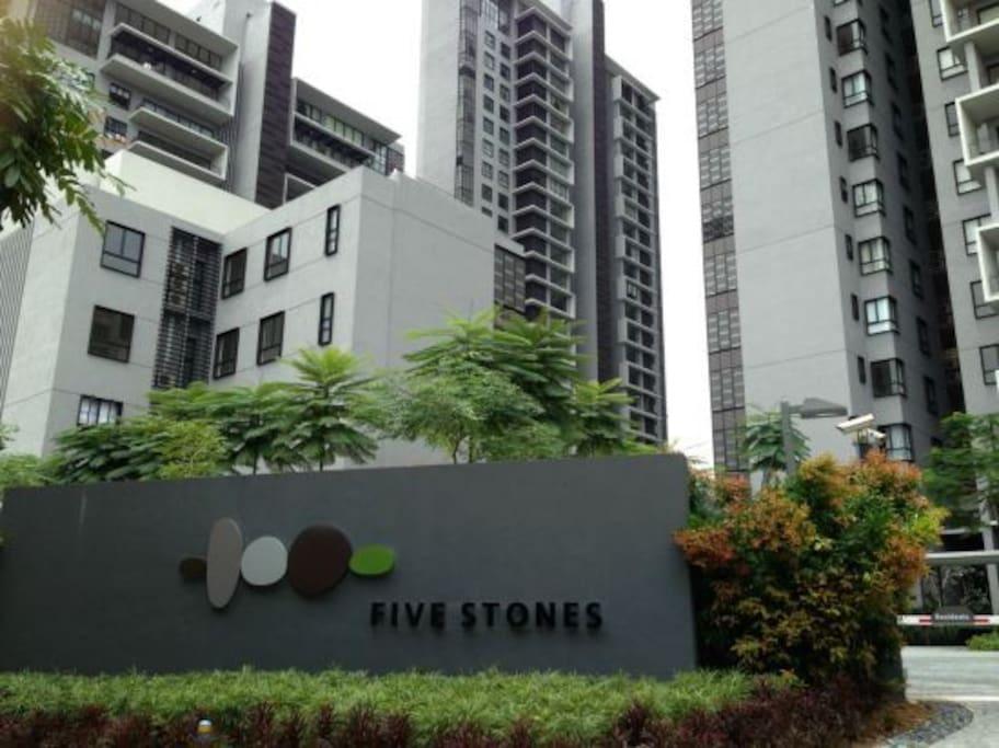 Luxurious Five Stones Condominium