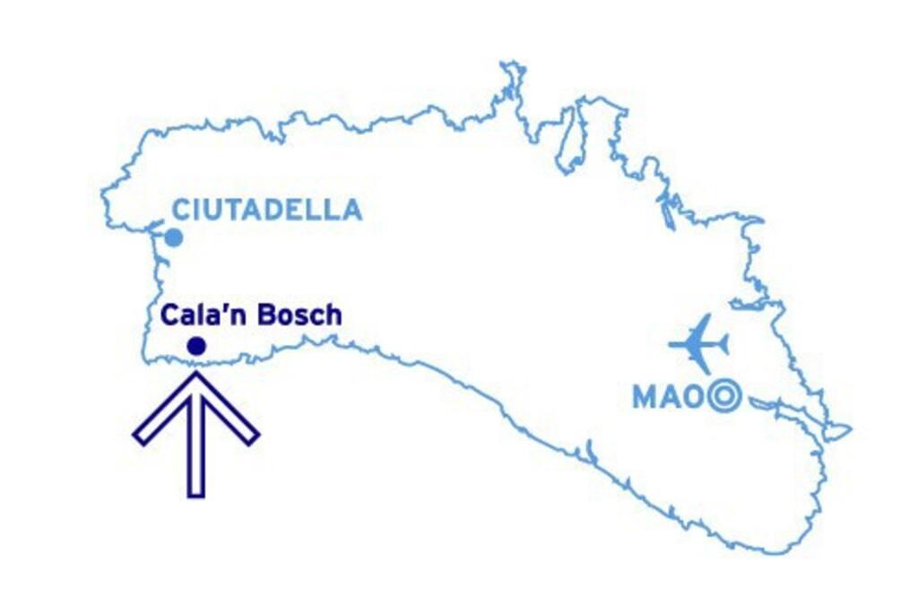 A 7 kilòmetres de Ciutadella