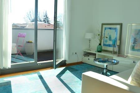 Wohlfühlzimmer mit Balkon & Bergsicht