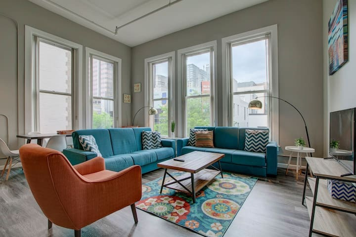 Contemporary DWNTN 2BR by 16th St Mall