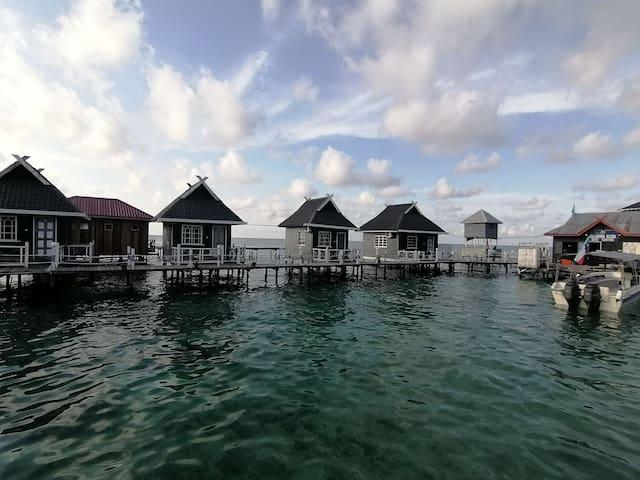 海景独立木屋