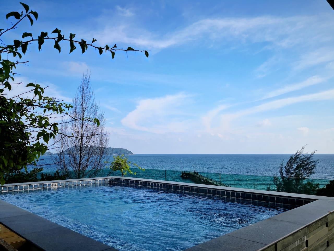 Private pool私人泳池
