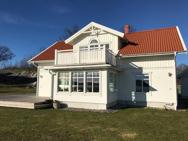 Hus på Västkusten med havsutsikt, 172 kvm.