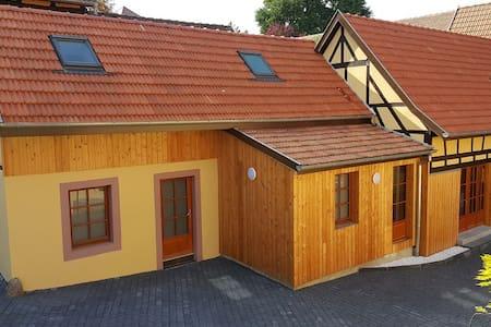 Gîte Entre-Deux-Vignes / spa sauna hammam 4 pers. - Scharrachbergheim-Irmstett - House