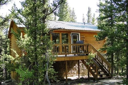 """""""The Cabin"""" Secluded, 2 bed/2 bath, pet-friendly - Fairplay - Chalet"""