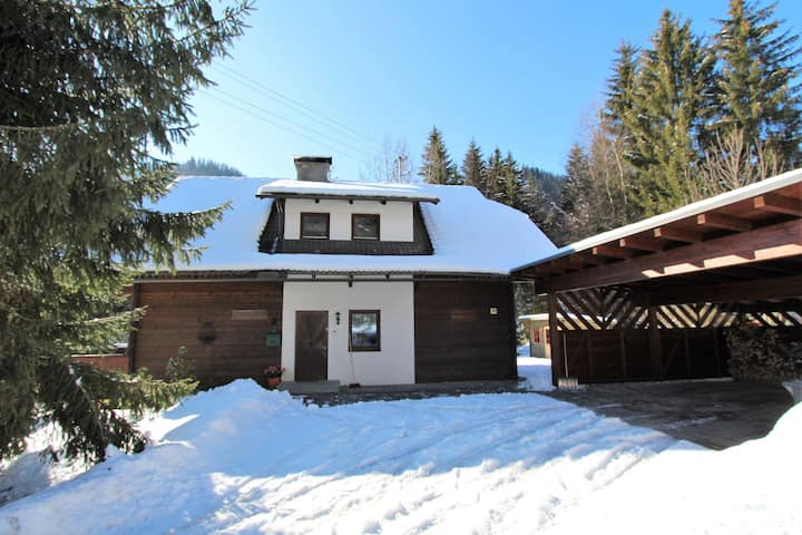 Very spacious, detached holiday home in Carinthia, near skiing areas and lakes