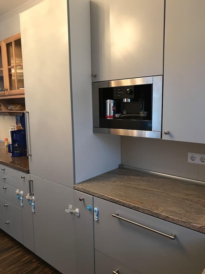 Neubau Komfort Haus Wellness, WLAN, Sky, Küche