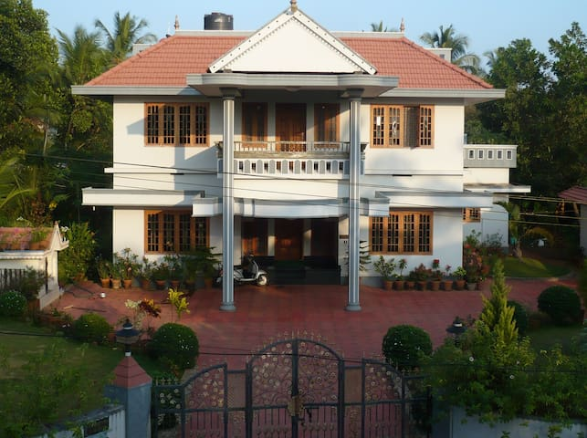 Prahari Nivas, the complete house