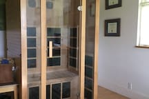 A Far-Infared Sauna is in your room