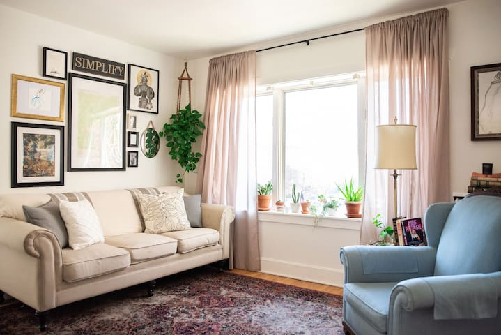 Plant & Book Lovers Flat in the Heart of Denver