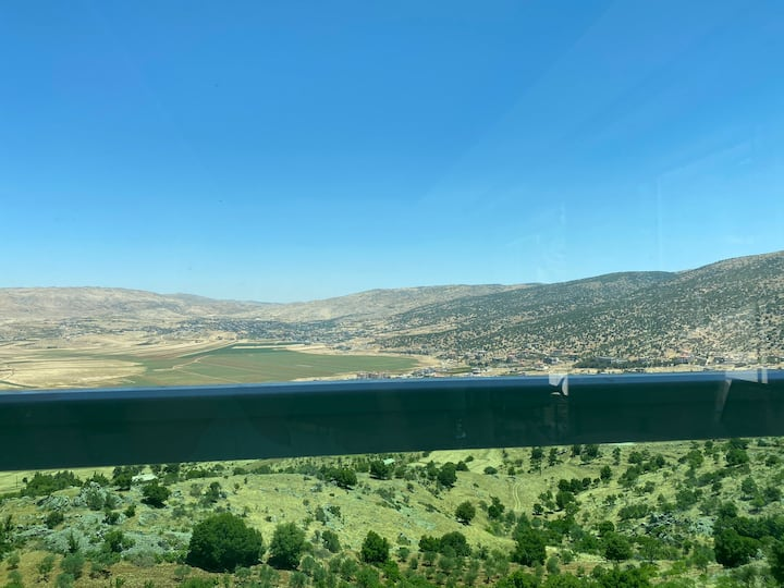 Private house overlooking scenic valley in Bekaa