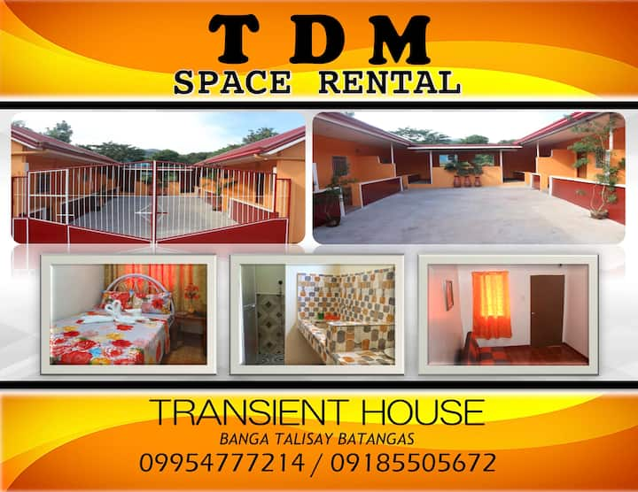 TDM Space Rental 2 (Safe and Convenient)