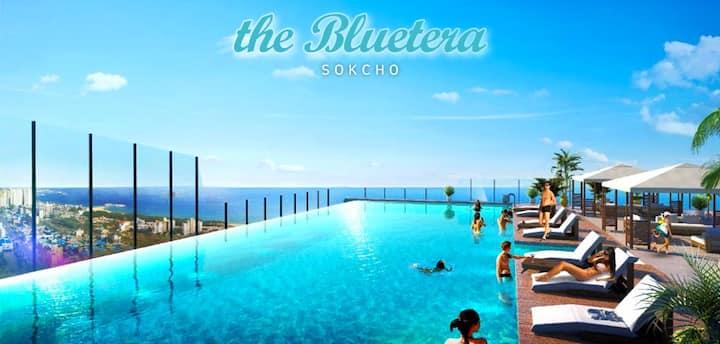 「Thr Blue Terrac」속초해수욕장 초신축건물 22층