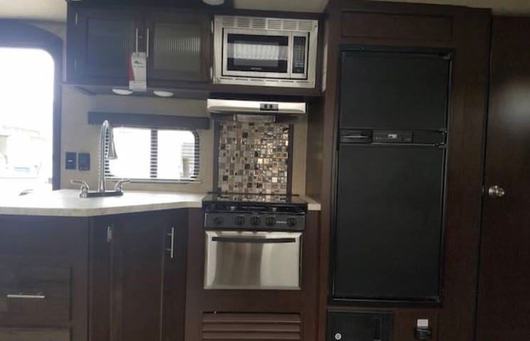 Fully functioning kitchen