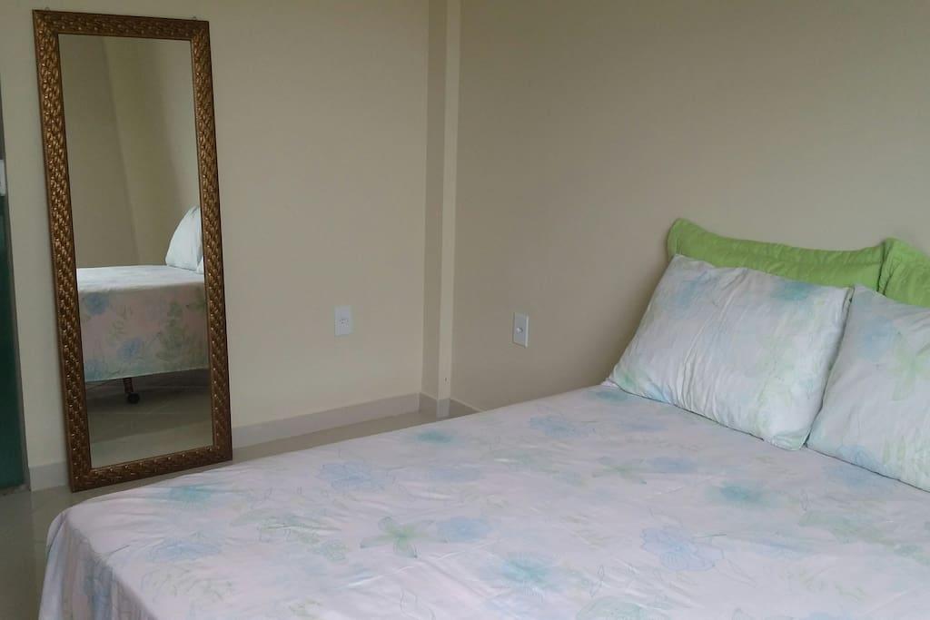 uma suite agradável