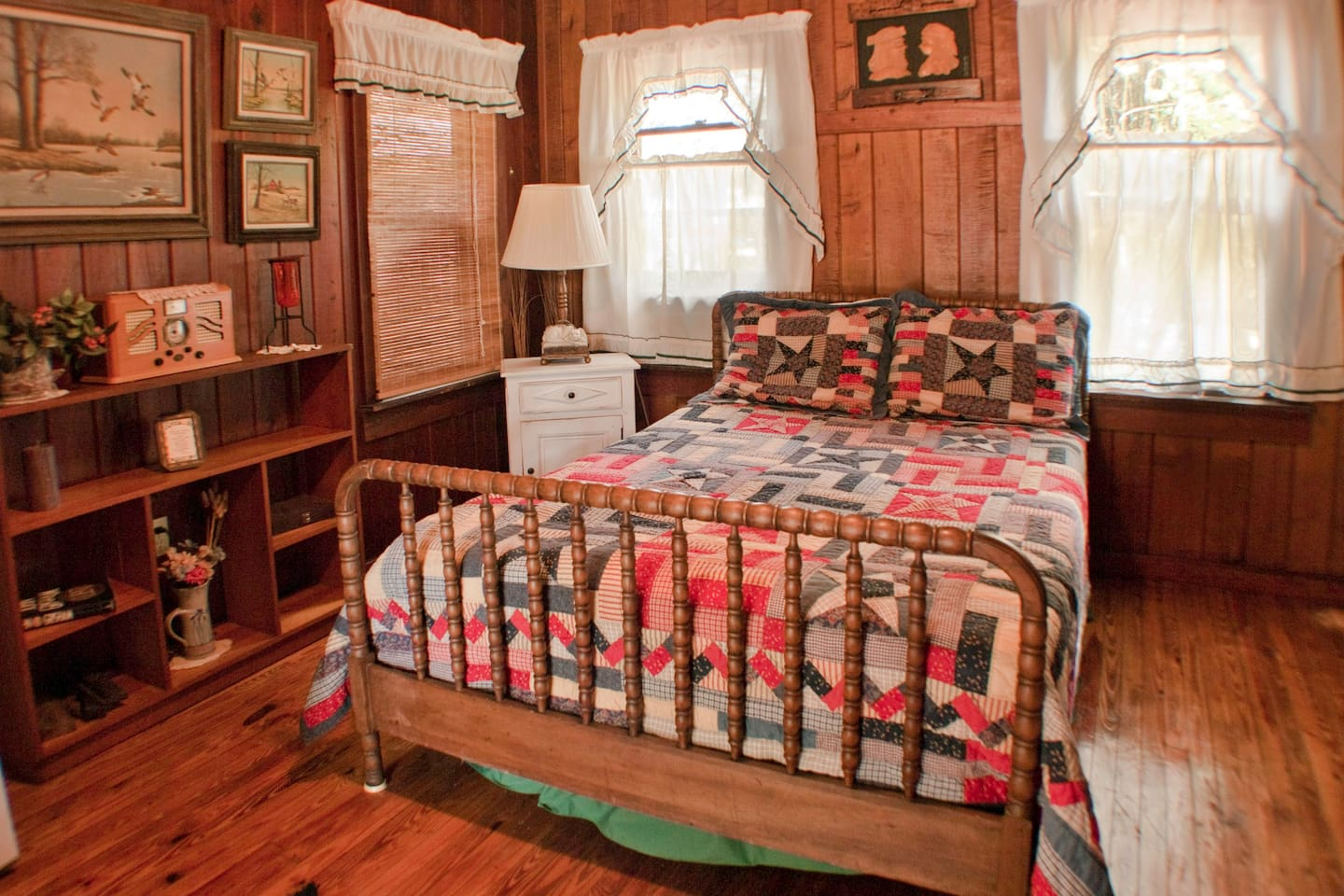 The comforts of a turn of the century cottage with updated features ....