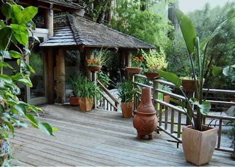 Quoia Retreat with View of Mt Tam