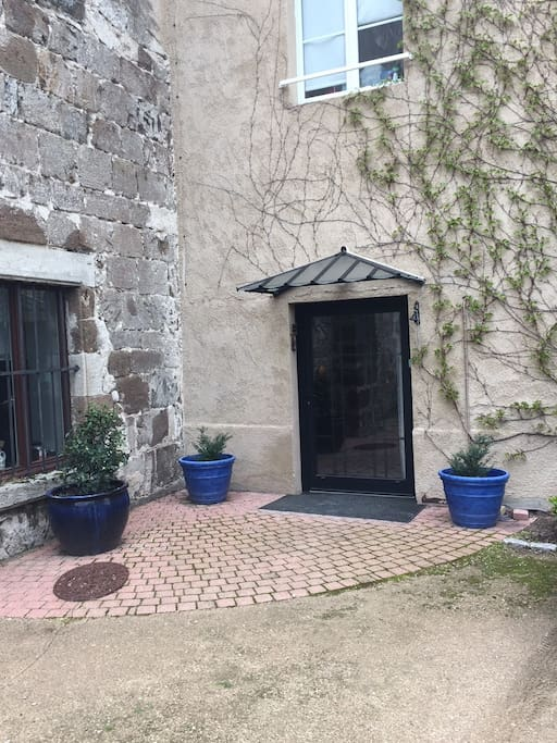 Entrée du prieuré.