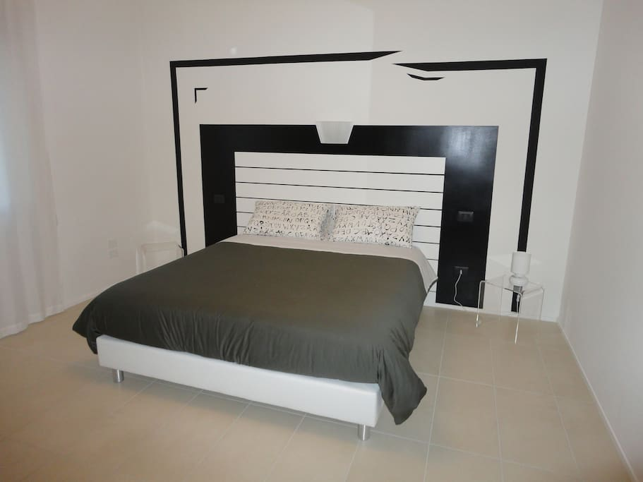 lo stile della camera in black & white