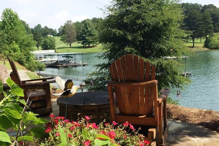 Lakefront, Year Round Mountain View - Hayesville