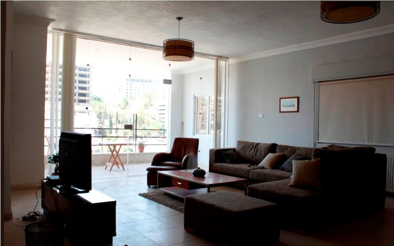 Chic apartment in Jabal Weibdeh - Amman - Apartemen