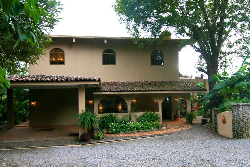 Entrance to The Hacienda Bed and Breakfast