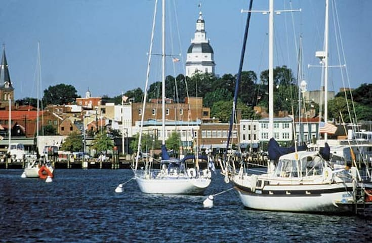 30ft Boat in Gated Community by Downtown Annapolis