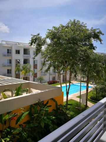 Cómoda habitación Cancun y espacio agradable.