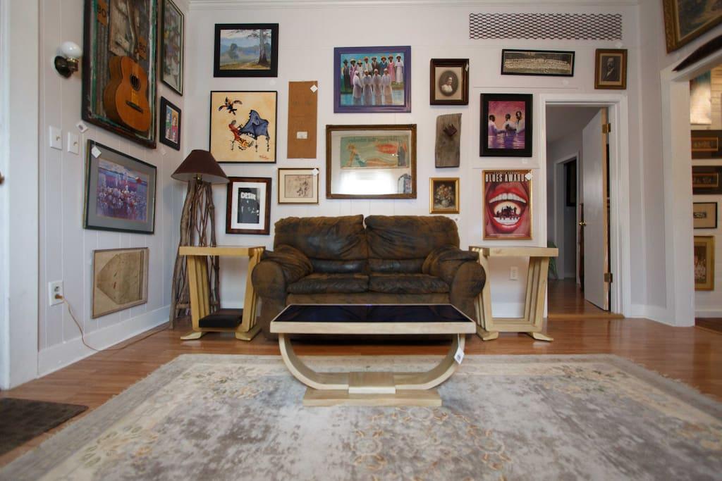 Sofa in livingroom